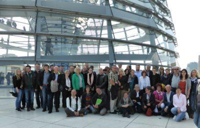 Saarländische Reisegruppe in Berlin