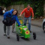 Adriano Pitillo und Alexander Weh auf dem Weg in die Werkstatt