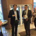 MdB Tressel und Bürgermeister Hoffeld