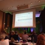 Prof. Dr. Linneweber bei seinem Vortrag zur Universität des Saarlandes